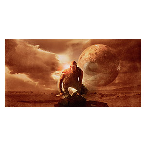 Chronicles of Riddick. Размер: 120 х 60 см
